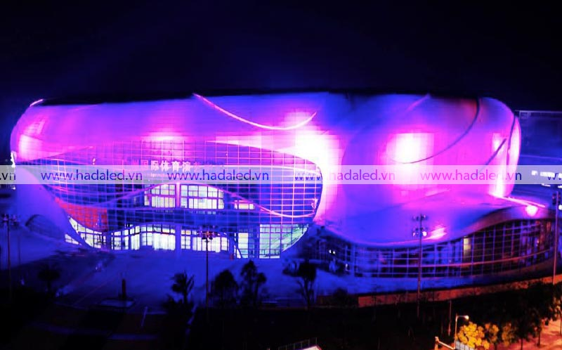 Đèn chiếu toà nhà