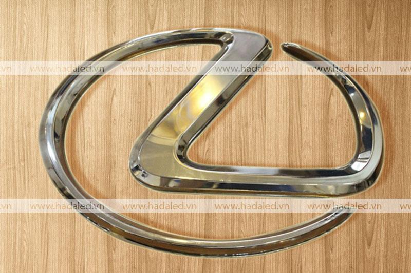 Logo mạ chrome xuyên sáng