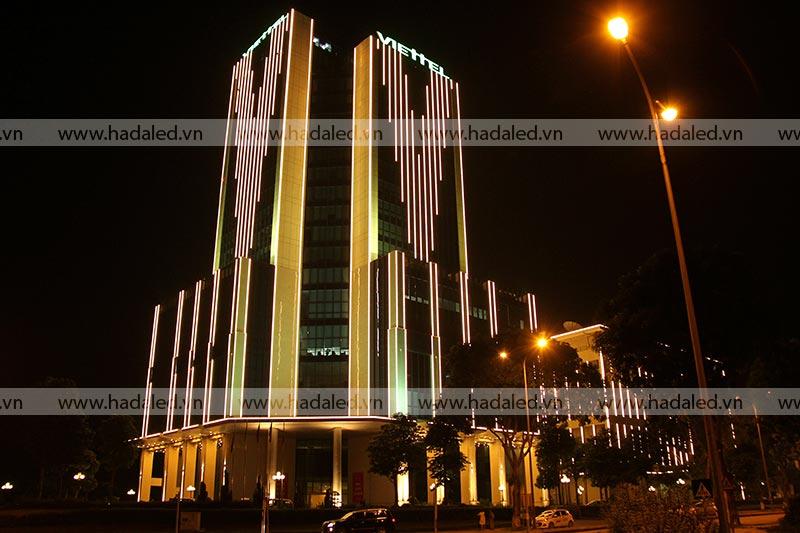 Đèn Led thanh trang trí toà nhà
