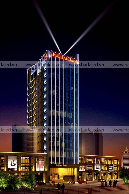 Đèn Led trang trí toà nhà