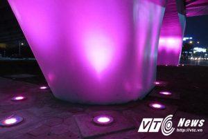 Chiếu sáng trụ cầu bằng đèn LEd