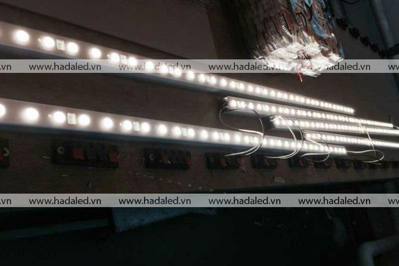 Led thanh HHX chiếu sáng toà nhà