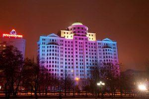 Chiếu sáng bề mặt công trình kiến trúc
