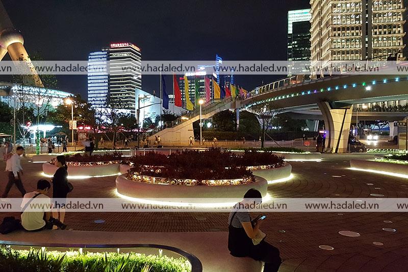 Đèn led trang trí công viên