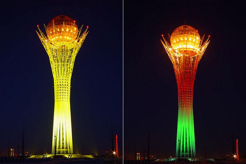 Led chiếu sáng biểu tượng
