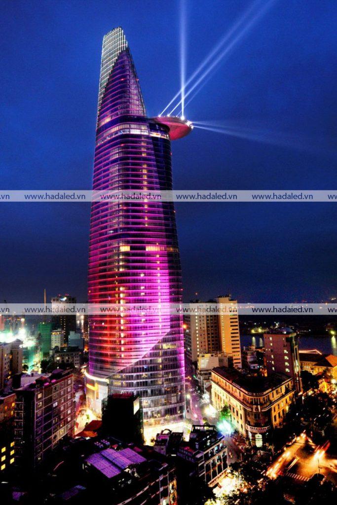 Led chiếu sáng mỹ thuật toà nhà