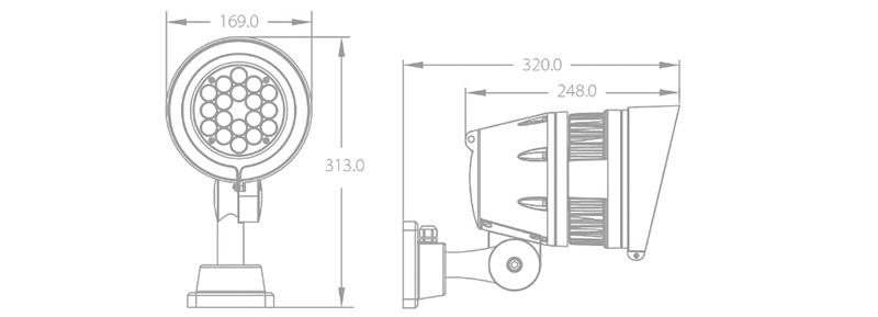 AM744 55w