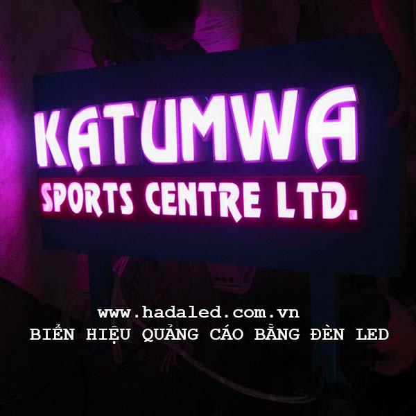 biển hiệu quảng cáo bằng đèn led