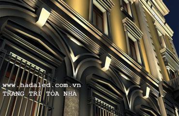 trang trí tòa nhà