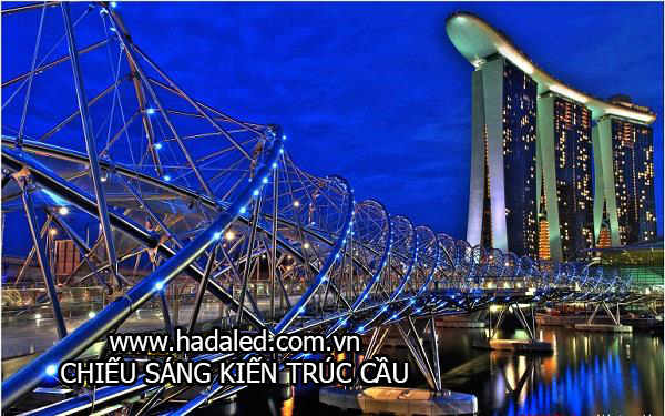 chiếu sáng kiến trúc cầu