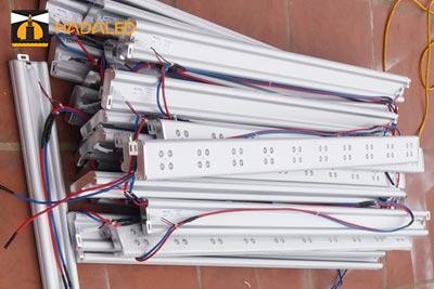 Đèn Led thanh tạo viền toà nhà