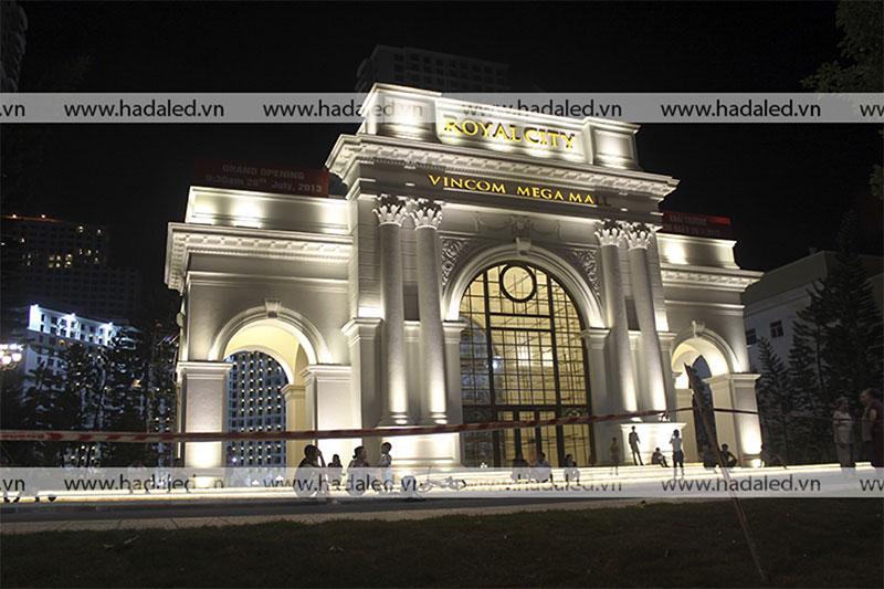 Đèn led pha chiếu sáng kiến trúc