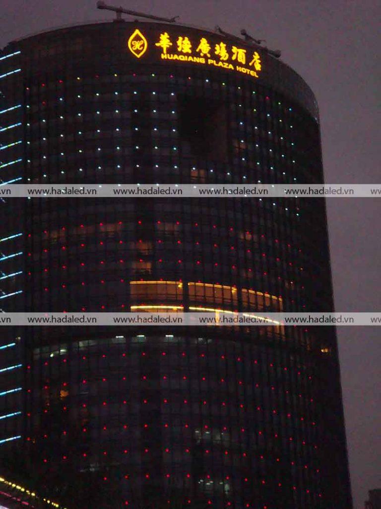 Đèn led trang trí kiến trúc toà nhà