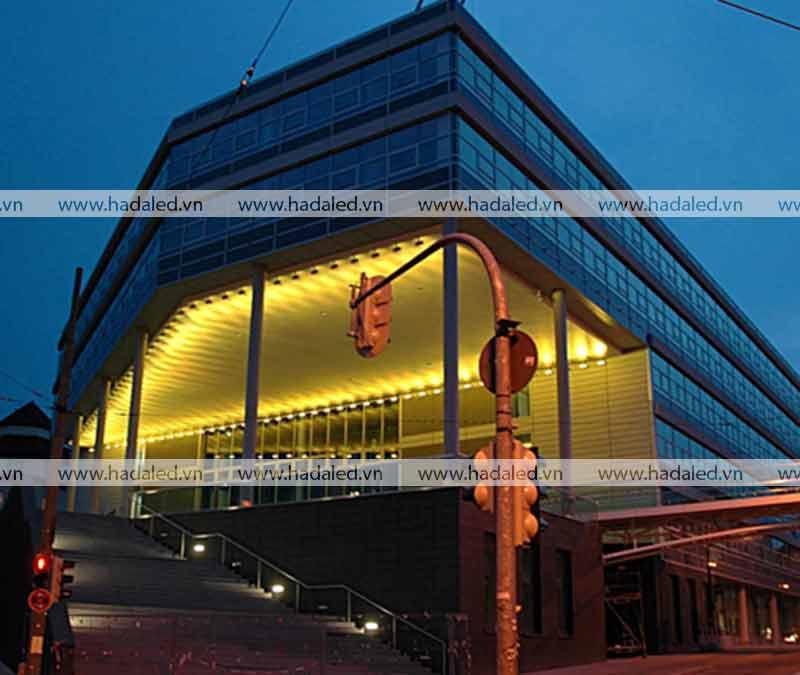 Đèn Led trang trí mỹ thuật toà nhà