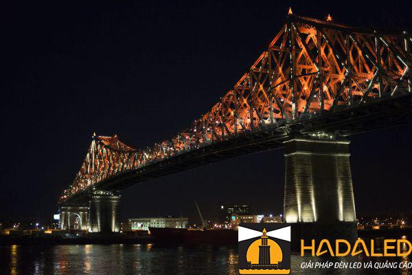 Những lợi ích khi sử dụng đèn led chiếu sáng kiến trúc cầu 4
