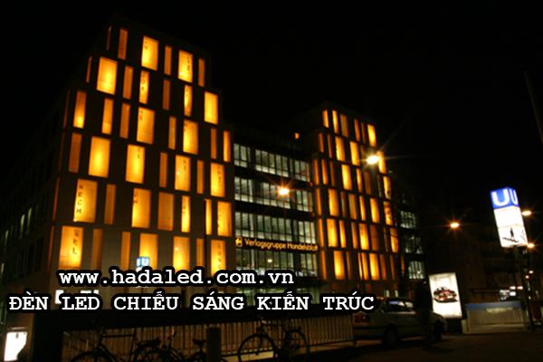 đèn led chiếu sáng kiến trúcđèn led chiếu sáng kiến trúc