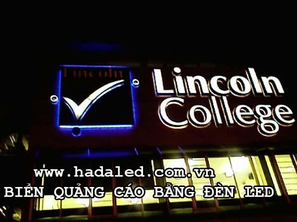 biển quảng cáo bằng đèn led