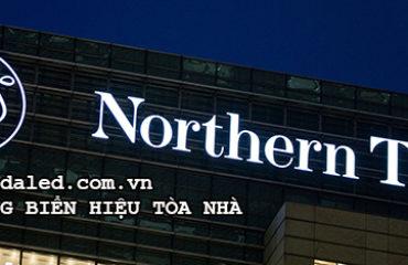 chiếu sáng biển hiệu tòa nhà