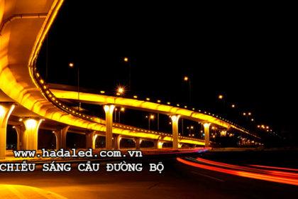 chiếu sáng cầu đường bộ