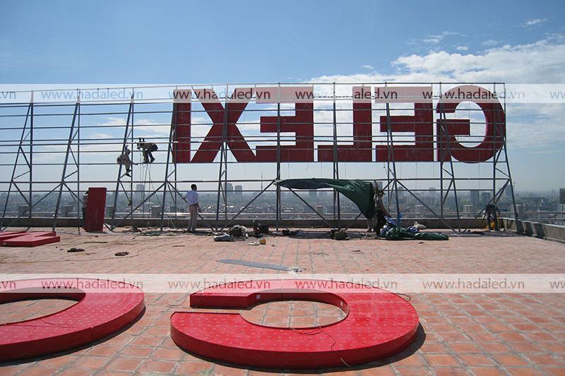 sản xuất biển hiệu tòa nhà