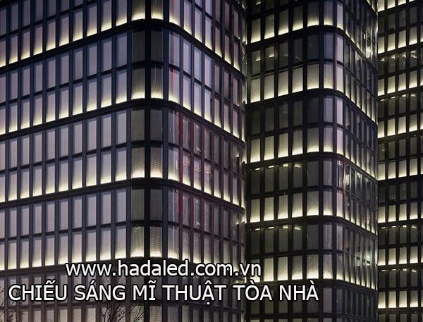chiếu sáng mĩ thuật tòa nhà